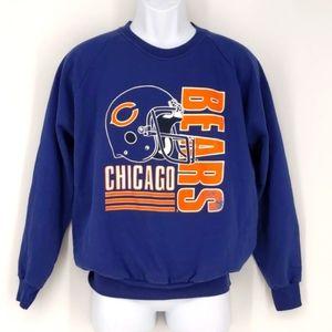VTG Chicago Bears NFL Football Sweatshirt Large